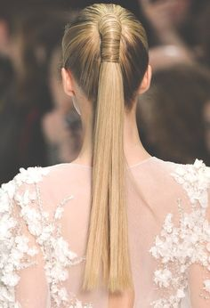 A Ponytail for Prom