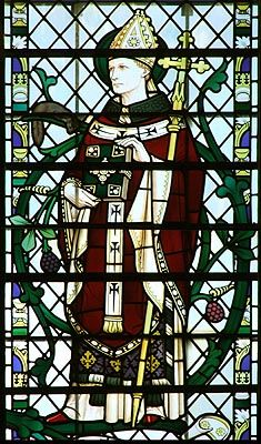 THEODORE OF TARSUS  ARCHBISHOP OF CANTERBURY (19 SEP 690) Anglo Saxon, Canterbury, Britain, Stained Glass, Spiderman, History, Fictional Characters, Image, Spider Man