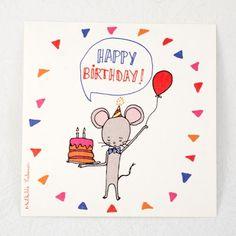 Happy Birthday anniversaire souris