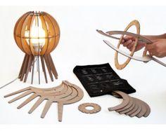 laser cut lighting DIY Kit