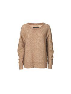Rosalinda fluffy knit - # Q56560001 - By Malene Birger Autumn Winter 2014 - Women's fashion
