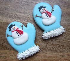 Cute Mitten cookies