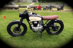 Check out this awesome 1975 CB360!! Picture was sent in by Dallas in the USA! via VonZeti