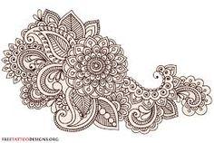 Resultado de imagen para mehndi designs in paper