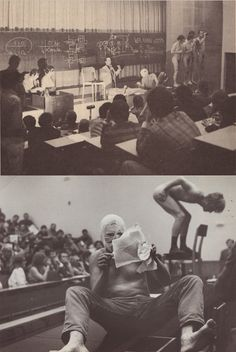 Art and Revolution, performance by Günter Brus, Otto Muehl, and others, University of Vienna, June 7, 1968