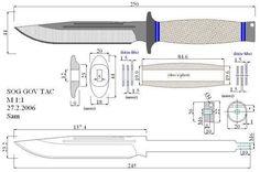 Чертежи ножей для изготовления. Часть 4 | LastDay Club image 29