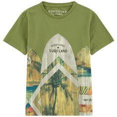 77ad9031c362e Mayoral - T-shirt illustré - 174542 Roupas Júnior, Roupas Para Crianças,  Estilo