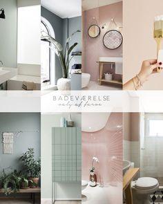 Farve på badeværelset