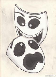 theatre masks 1