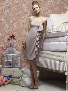 Lela Rose, available in wide color range and as full length