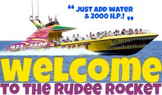 Virginia Beach Speed Boat Ride - The Rudee Rocket - Virginia Beach, Virginia