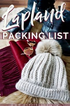 Lapland packing list by a local! This helpful article has all the things you need to be toasty warm on your Lapland holiday! packing Lapland Packing List: What to Pack for Winter Finland Holiday Packing Lists, Packing List For Travel, Travel Tips, Vacation Packing, Travel Checklist, Packing Tips, Cruise Packing, Lappland, Finland Destinations