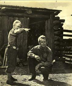 SHANE (1953) - Alan Ladd & Brandon DeWilde