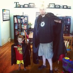 DIY Superhero Costume : DIY Super Hero Capes :DIY Halloween DIY Costumes