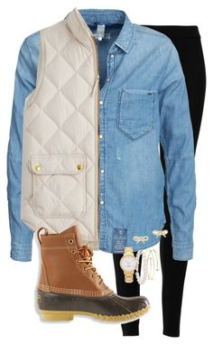 """""""Ugh all my plans got cancelled this weekend because of the rain"""" by skmorris18 ❤ liked on Polyvore featuring Max Studio, G-Star, J.Crew, L.L.Bean, Kate Spade, Elsa Peretti and Blue Nile"""