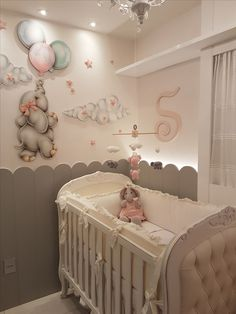Baby room design - Turn your baby's room in a magical place with Circu nurseries decor ideas Find our exclusive designs at circu net adshow addesignshow architecturaldigest Baby Bedroom, Nursery Room, Girl Nursery, Nursery Decor, Baby Nursery Ideas For Girl, Pink Elephant Nursery, Dumbo Nursery, Baby Room Themes, Baby Room Decor