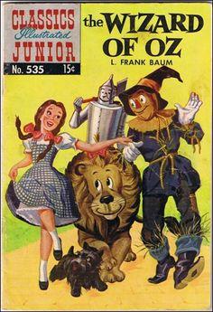 classics illustrated images | Classics Illustrated Junior 535 E, Dec 1964 Comic Book by Famous ...