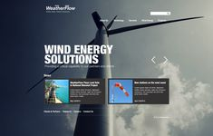 Weatherflow | Designer: FA Design #ui #web