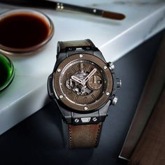 Hublot - Big Bang Unico Berluti Cold Brown | Time and Watches | The watch blog
