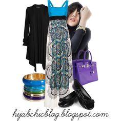 """Hijab Style"" by fashion4arab on Polyvore"
