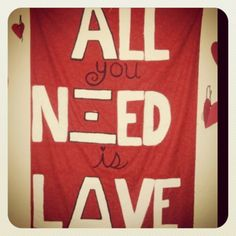 All you nΞed is lΔve :)