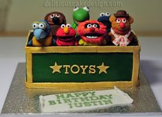 Muppets cake for my next birthday? Yes please! We can totally make that.