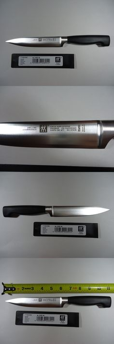 Kitchen and Steak Knives 177005: New Zwilling J.A. Henckels Four Star Twin 6 Utility Knife 31070-160 Germany -> BUY IT NOW ONLY: $50 on eBay!