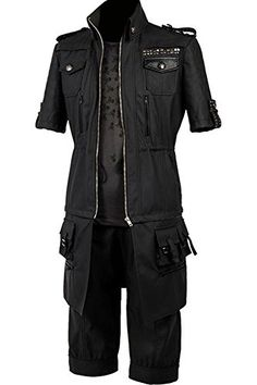 CosplaySky Final Fantasy XV Costume Noctis Lucis Caelum Outfit XXLarge * Click image to review more details-affiliate link.