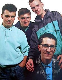 The Housemartins. When the miners strike back in the 80's, this group were on tour. They sang the song, Caravan, in support of the miners & their families. Everyone at the gig lit their lighters, matches etc. & held them above their heads whilst this song was sung to show their own support too.