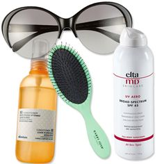 What's in Selene Milano, Senior Beauty Editor's, Beach Bag? Harry Josh Pro Tools Detangling Brush!- InStyle.com