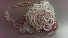 Pearls and soutache