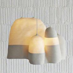 Doug Johnston's light sculptures via Mondoblogo