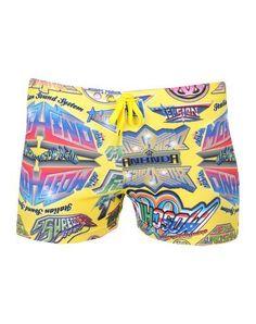 0f6510c127 MOSCHINO SWIM Men's Beach shorts and pants Yellow XL INT Moschino, Yellow,  Pants,