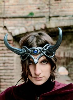 MADE TO ORDER  headpiece Fantasy Pagan by ChimericalDragonfly