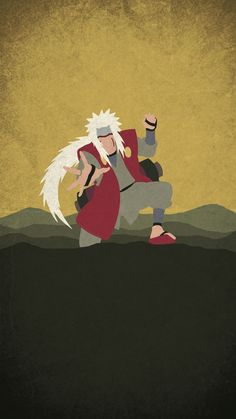 Naruto Minimalist Mobile Wallpaper