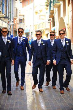 wedding Collioure elme fort neptune ori photographer pyrenees restaurant Saint Wedding is part of Wedding suits groom - Blue Groomsmen Suits, Navy Blue Tuxedos, Groomsmen Outfits, Groom And Groomsmen Attire, Blue Suits, Bride Groom, Navy Blue Suit, Groom Suits, Blue Tuxedo Wedding