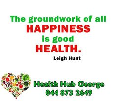 """""""The groundwork of all happiness is good health."""" - Leigh Hunt #HealthHub #SundayMotivation"""