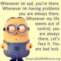 30 Hilarious Minion Images cool despicable me entertainment funny humor minions . Humor Minion, Funny Minion Memes, Minions Quotes, Minions Images, Minion Sayings, Cartoon Quotes, Funny Shit, Haha Funny, Hilarious