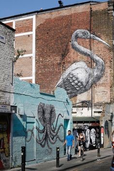 Brick Lane, Old Spitafields Market, Shoreditch, East End, London