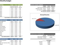 free excel budgeting spreadsheet