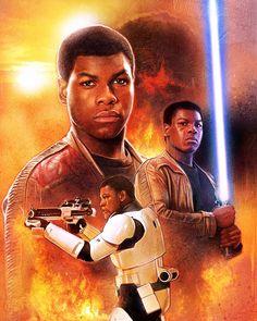 Star Wars: Episode VII - The Force Awakens - Finn by Paul Shipper *