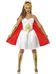 Buy He-man Costumes, She-ra Costumes, Skeletor Costumes NEXT DAY delivery from Fancy Dress Ball. By the Power of Grey Skull buy He-Man & She-ra Costumes today! Star Fancy Dress, Fancy Dress Ball, Adult Fancy Dress, Ladies Fancy Dress, Halloween Fancy Dress, Halloween 2016, Super Hero Outfits, Super Hero Costumes, He Man Costume