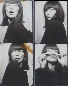 Andy Warhol  Black on White  Paris, France | Sunday April 15, 2012 - Saturday April 21, 2012  During the Sixties, Andy Warhol made a rare documentation of subjects in time with his photobooth portraits ; These photobooth strips, no matter how much they are readymades, mark the first instance of Warhol making multiples using a strictly photographic medium, that is, the gelatin silver print.