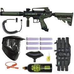 Marker Packages 47248: Tippmann Cronus Tactical Paintball Gun 3Skull Remote Mega Set - Olive -> BUY IT NOW ONLY: $164 on eBay!