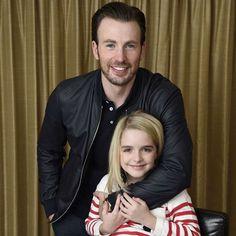 Chris Evans & McKenna Grace photographed for #GiftedMovie!