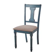 Powell Willow Side Chair 16D8214SCX - Powell Willow Side Chair 16D8214SCXWith a beautiful and calming blue finish, the Willow Side Chair will make a statement in your home. The finish features a teal blue dry brushed glaze finish with wormhole distressing. The attention to detail in the design features of turned legs and chisled edging make this set stand out. The padded seats are made for comfort and style with a neutral fabric with tonal variation. Matching table and bench are available to…