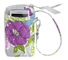 All in One Wristlet | Vera Bradley:::::  Isnt this soo pretty?