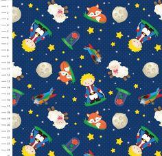 Corte de tecido digital  Ticoline 100 % algodão  Cada unidade corresponde 25cm x150cm Little Prince Party, The Little Prince, Nursery Prints, Nursery Art, Wallpaper Infantil, Mickey Mouse, Iphone 6 Wallpaper, Cute Backgrounds, Kids Furniture