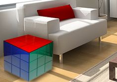 Rubick Cube Side Table