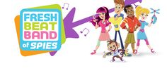 Fresh Beat Band of Spies use their skills, smarts, teamwork, and tech to outwit a goofy cast of villains and solve lots of wild and funny mysteries. Spy Shows, Spy Games, Nick Jr, Shimmer N Shine, Julia, Beats, Hero, Fresh, Activities